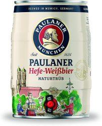 Amazon: Paulaner Hefe-Weißbier Naturtrüb 5 Liter Partyfass für nur 9,99 Euro statt 14,49 Euro bei Idealo