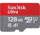 Amazon: SanDisk Ultra 128 GB microSDXC Speicherkarte + SD-Adapter für nur 14,57 Euro statt 17,52 Euro bei Idealo