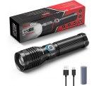 Amazon: WdtPro Extrem Helle 5000 Lumen LED Taschenlampe über USB Aufladbar für nur 14,99 Euro statt 24,99 Euro