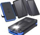 Amazon – xiyihoo 26800mAh Solar Powerbank mit Wireless Ladegerät durch Gutscheincode für 18,58€ statt 30,99€