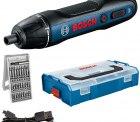 Bosch Professional Akkuschrauber Bosch GO inkl. 25-tlg. Bit-Set, USB-Ladekabel, L-BOXX Mini für 52,39 € (82,95 € Idealo) @Amazon