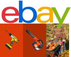 Ebay: 10% Rabatt auf Heimwerken, Garten und Terrasse mit Gutschein ohne MBW