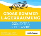 Jeans-Direct: Sommer Lagerräumung mit 20% Extrarabatt mit Gutschein ab 30 Euro MBW