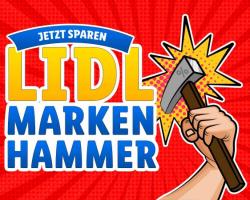 LIDL Marken Hammer + kostenloser Versand mit Gutschein auf das Aktions-Sortiment