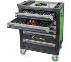 STARKMANN Blackline Werkzeugwagen 7 Schubladen inkl. 599 tlg. Werkzeugset für 349,99 € (434,89 € Idealo) @eBay