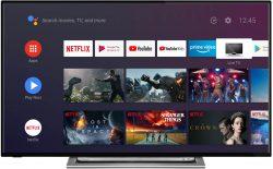 Toshiba UA3A63DG 139 cm/55 Zoll, 4K Ultra HD, HDR, Android Smart TV für 389 € (469,49 € Idealo) @eBay
