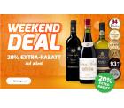 Weinvorteil: 20% EXTRA-Rabatt auf alles mit Gutschein ohne MBW