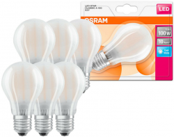 6 x Osram LED Filament Birnenform A60 11W = 100W E27 matt neutralweiß 4000K für 11,69 € (20,87 € Idealo) @eBay