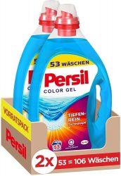 Amazon: 2er Pack Persil Color Kraft-Gel (2 x 53 Waschladungen) ab nur 13,67 Euro statt 29,93 Euro bei Idealo