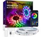 Amazon: 2x 5 Meter SATURNDOCK RGB LED Streifen mit Musik Synchronisation und App Steuerung mit Gutschein für nur 11,99 Euro statt 39,99 Euro