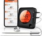 Amazon: BFOUR Bluetooth und Funk Grillthermometer mit 2 Sonden mit Gutschein für nur 22,17 Euro statt 36,95 Euro