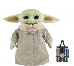Amazon: Disney Star Wars GWD87 28 cm große Yoda Baby-Figur mit Geräusch- und Bewegungsfunktion für nur 35,99 Euro statt 54,95 Euro bei Idealo