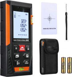 Amazon: NIYEYE Laser Entfernungsmesser mit Gutschein für nur 16,99 Euro statt 30,89 Euro