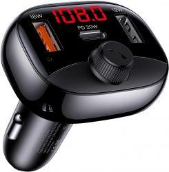 Amazon: YOUSAMS Auto Bluetooth FM Transmitter mit Fast Charge KFZ Ladegerät mit Gutschein für nur 7,99 Euro statt 19,99 Euro