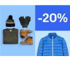 Ebay: 20% Rabatt auf Wintermode mit Gutschein ohne MBW