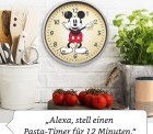 Echo Wall Clock – Disney-Micky-Maus-Sonderedition durch Gutscheincode für 37,49 € statt 49,99 € @Amazon