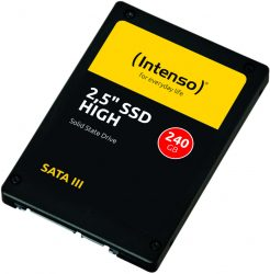 Intenso 3813440 High Performance interne SSD 240 GB für 22,99 € (29,97 € Idealo) @Amazon