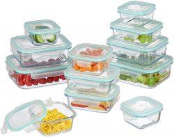 Relaxdays Glas-Frischhaltedosen 12er Set mit Clip-Deckel für 35,85 € (59,90  € Idealo) @Amazon