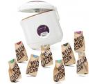 REWE: Reishunger 1,2L Reiskocher + 8 x 200g verschiedene Reissorten für nur 29,99 Euro statt 39,99 Euro bei Idealo
