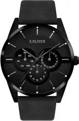 s.Oliver  SO-3572-LM Herren Multi Zifferblatt Quarz Armbanduhr für 54,99 € (72,89 € Idealo) @Amazon
