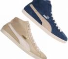 Sportspar: PUMA Glyde Mid Wildleder Sneakers für nur 27,49 Euro statt 46,59 Euro bei Idealo