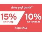 Tchibo: Für 2 Tage 15% Extrarabatt auf den Sale mit Gutschein ohne MBW